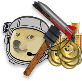 dogeminer     moon  dogecoins save world